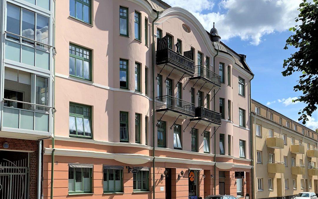 """Fastighetshus """"Konvaljen 13"""" – Vallgatan 17."""